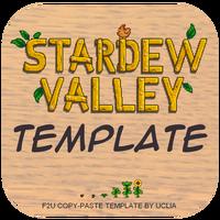 Stardew Valley Template on Toyhouse