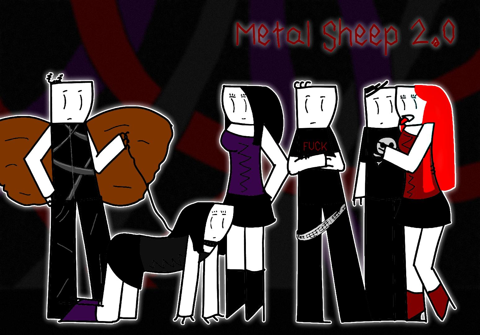 Metal Sheep poster