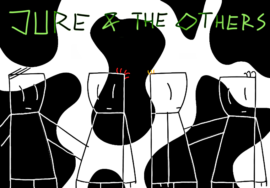 JURE! and the others poster