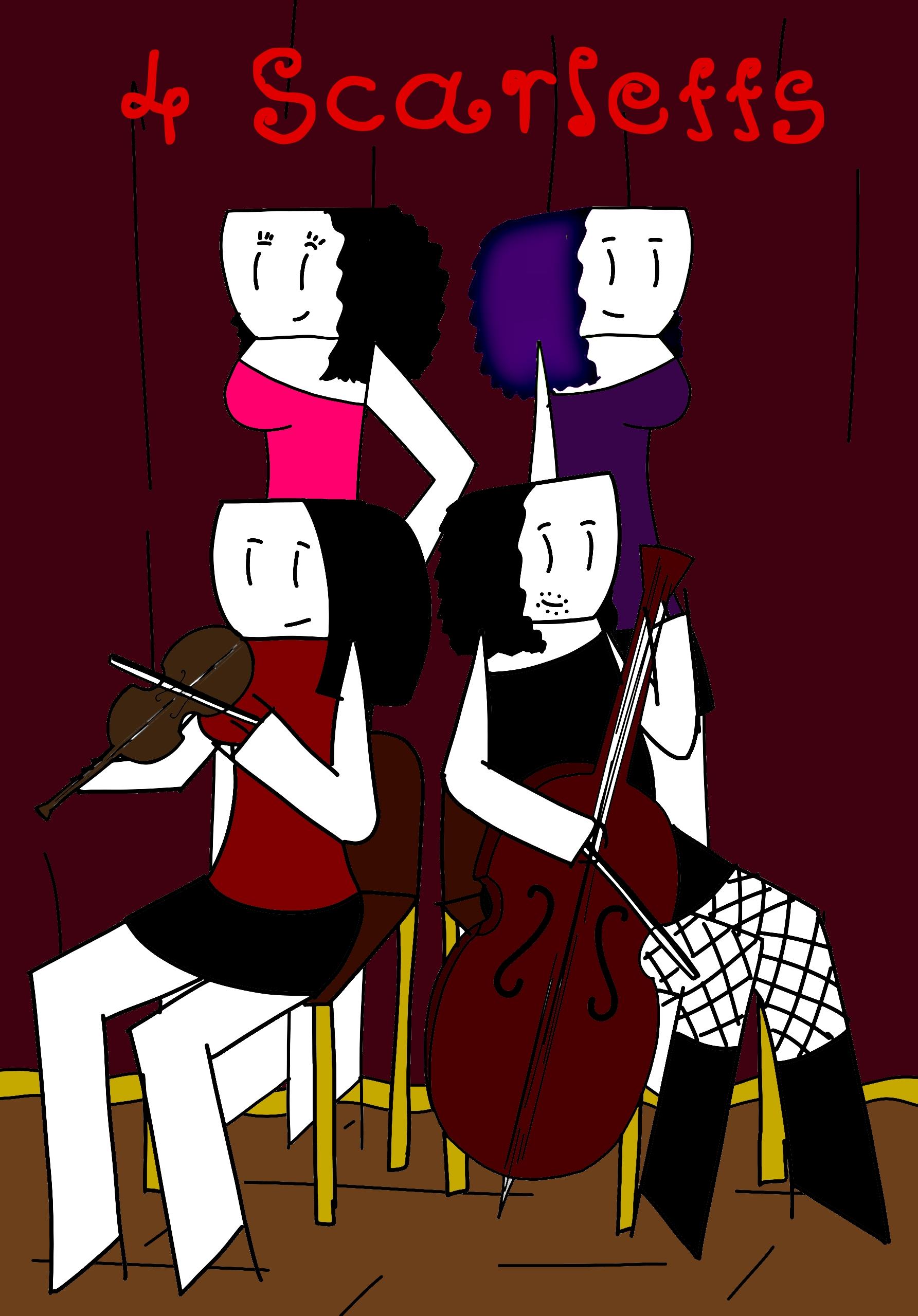 4 Scarletts