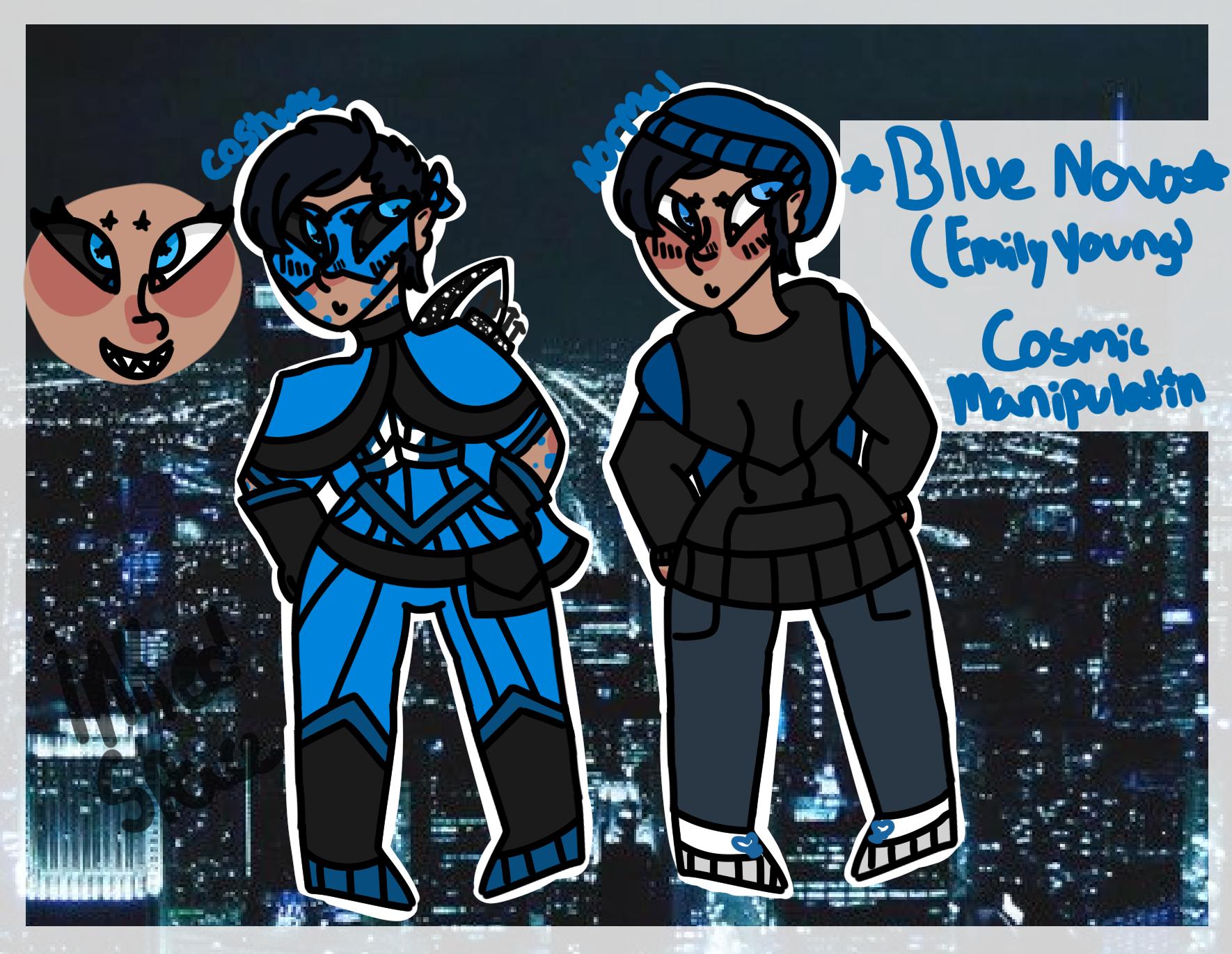 Blue Nova on Toyhouse