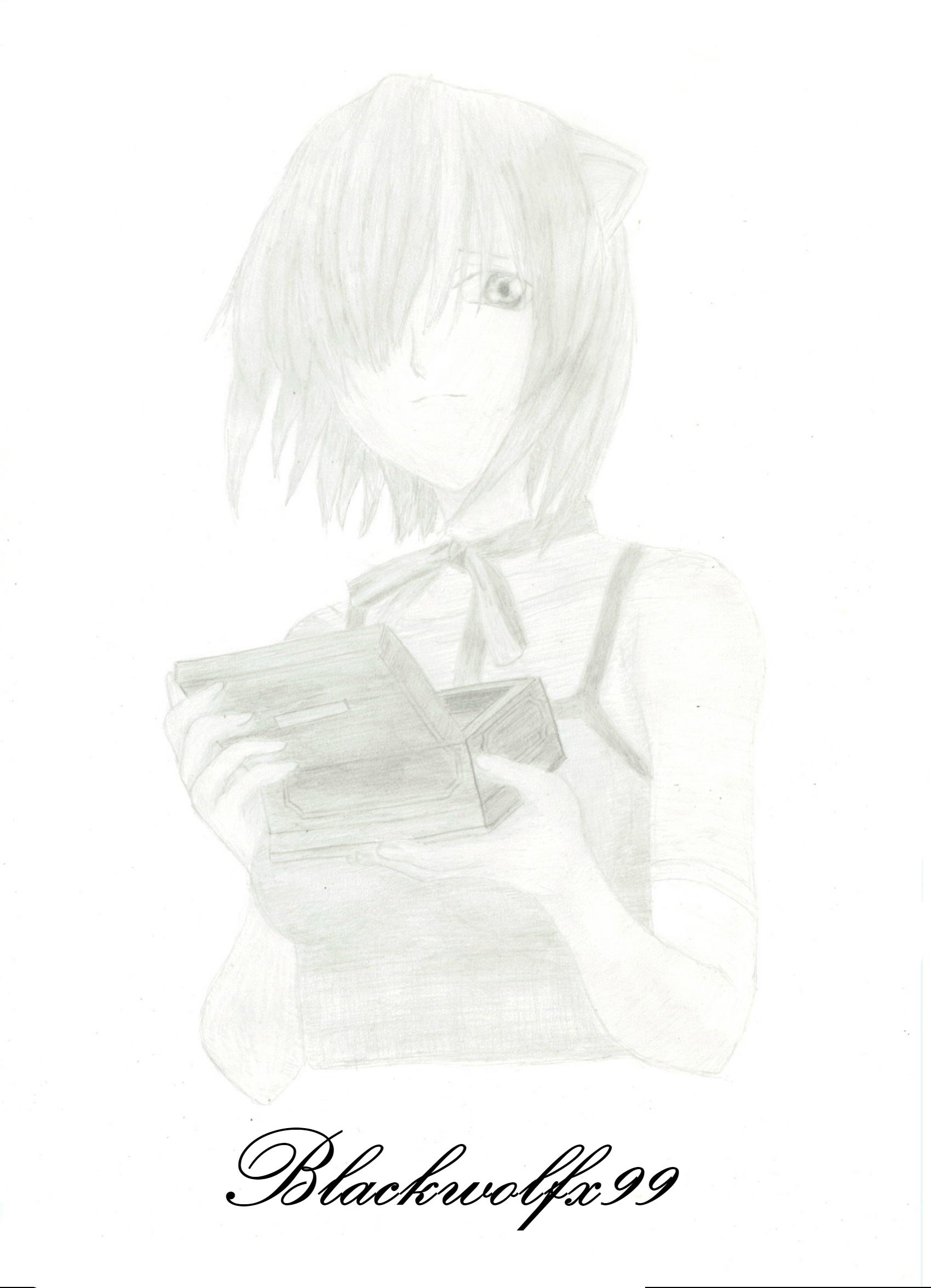 Lucy from Elfen Lied (Blackwolfx99)