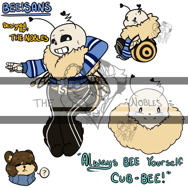 Bee!Sans (Sans-Bee) on Toyhouse